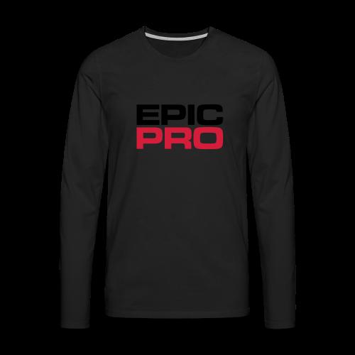 Epic Pro T-Shirt - Männer Premium Langarmshirt