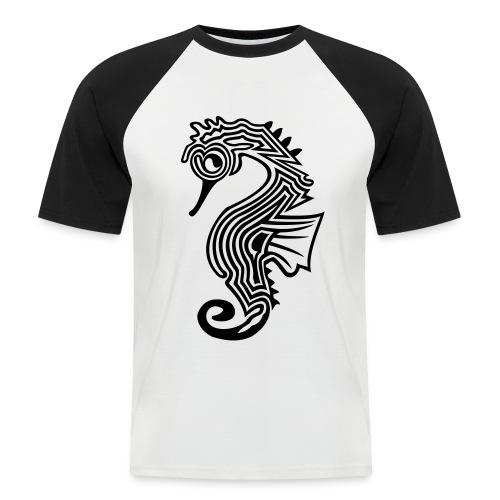 shirt seepferdchen - Männer Baseball-T-Shirt