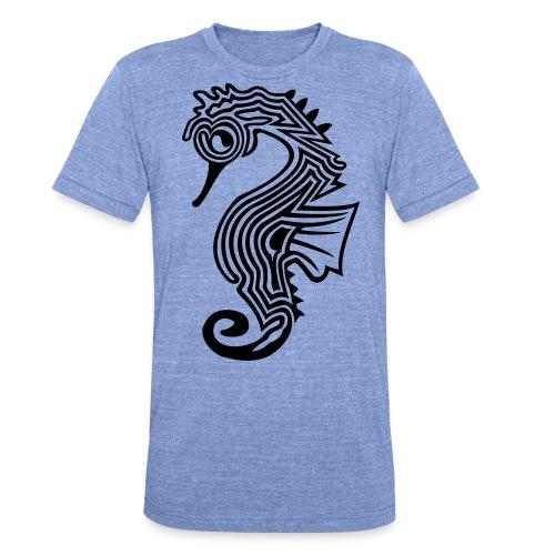 shirt seepferdchen - Unisex Tri-Blend T-Shirt von Bella + Canvas