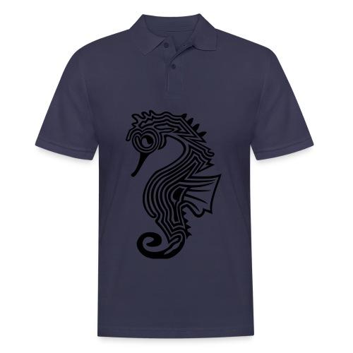 shirt seepferdchen - Männer Poloshirt