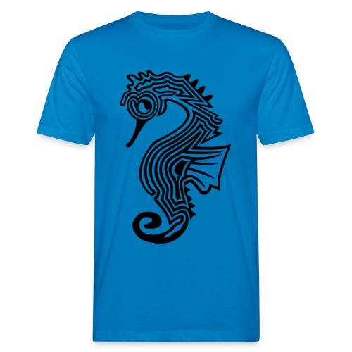 shirt seepferdchen - Männer Bio-T-Shirt