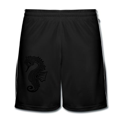 shirt seepferdchen - Männer Fußball-Shorts