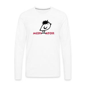 TWEETLERCOOLS - Mediator - Männer Premium Langarmshirt