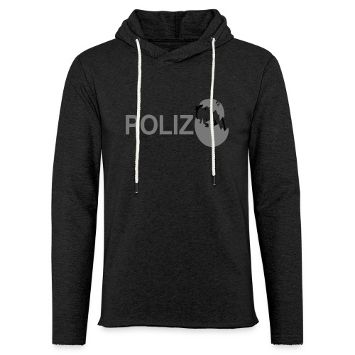 TWEETLERCOOLS - POLIZEI | Männer 5XL - Leichtes Kapuzensweatshirt Unisex