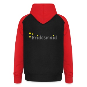 Star Bridesmaid T-Shirts - Unisex Baseball Hoodie