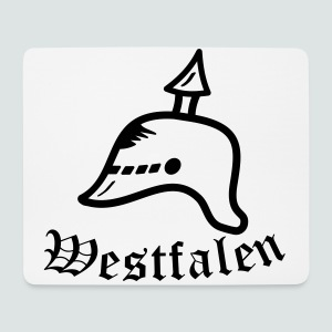 Westfalen Pickelhauben T-Shirt - Mousepad (Querformat)