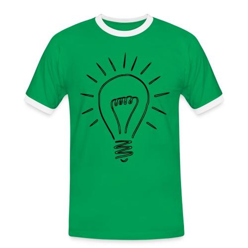 Et la lumière fût! - T-shirt contrasté Homme