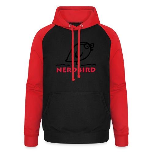 TWEETLERCOOLS - NERDbird - Unisex Baseball Hoodie