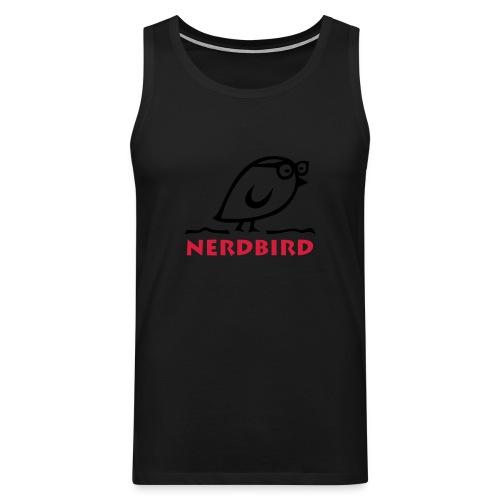 TWEETLERCOOLS - NERDbird - Männer Premium Tank Top