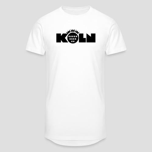 Köln Wappen modern T-Shirts - Männer Urban Longshirt