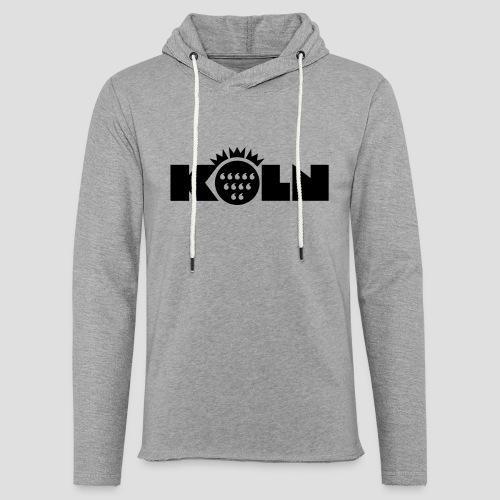 Köln Wappen modern T-Shirts - Leichtes Kapuzensweatshirt Unisex
