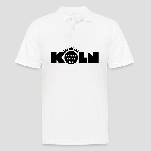 Köln Wappen modern T-Shirts - Männer Poloshirt