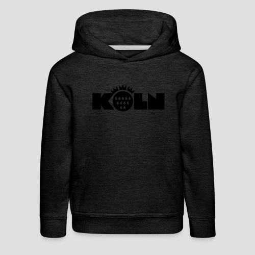 Köln Wappen modern T-Shirts - Kinder Premium Hoodie