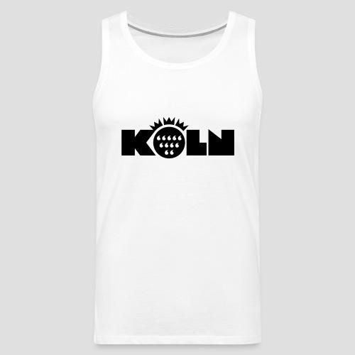 Köln Wappen modern T-Shirts - Männer Premium Tank Top