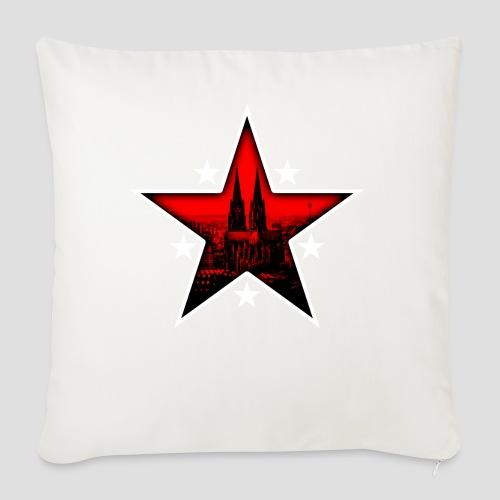 K  RedStar - Sofakissenbezug 44 x 44 cm