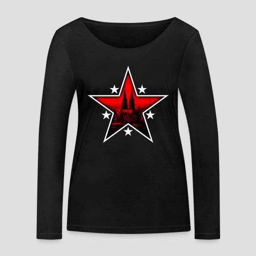 K  RedStar - Frauen Bio-Langarmshirt von Stanley & Stella