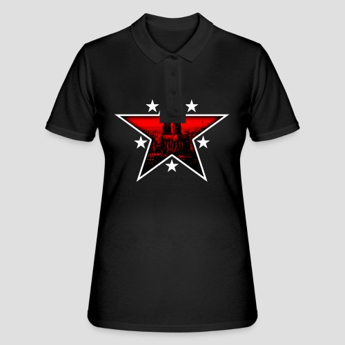K  RedStar - Frauen Polo Shirt