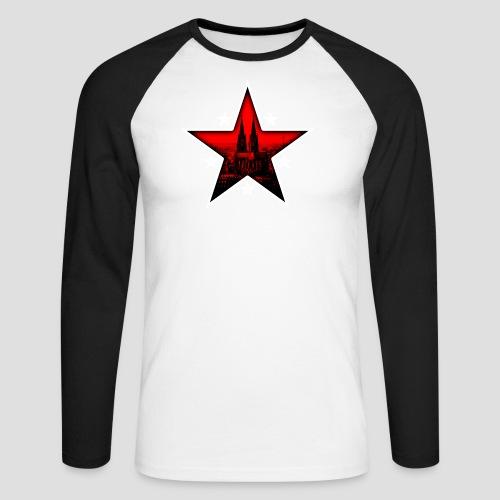 K  RedStar - Männer Baseballshirt langarm