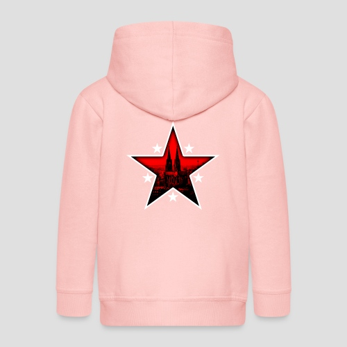 K  RedStar - Kinder Premium Kapuzenjacke