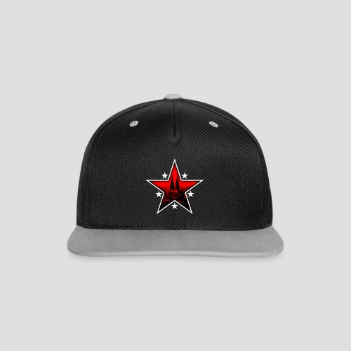 K  RedStar - Kontrast Snapback Cap