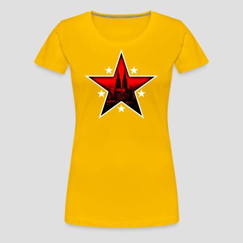 K  RedStar - Frauen Premium T-Shirt