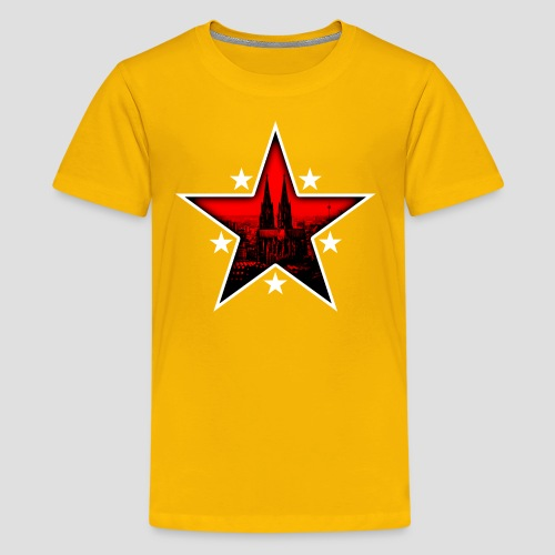 K  RedStar - Teenager Premium T-Shirt