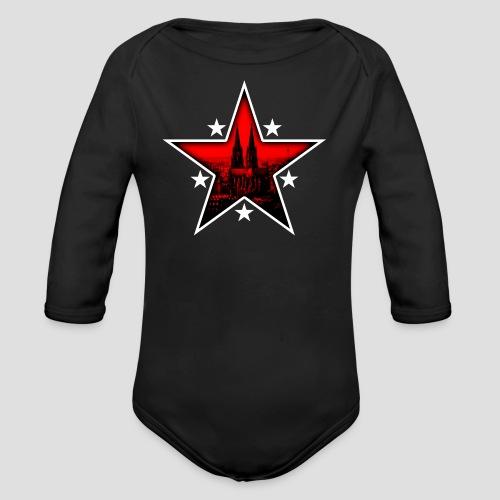 K  RedStar - Baby Bio-Langarm-Body