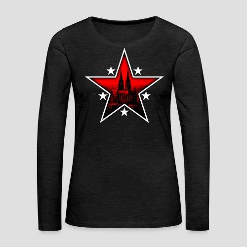 K  RedStar - Frauen Premium Langarmshirt