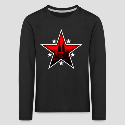 K  RedStar - Kinder Premium Langarmshirt