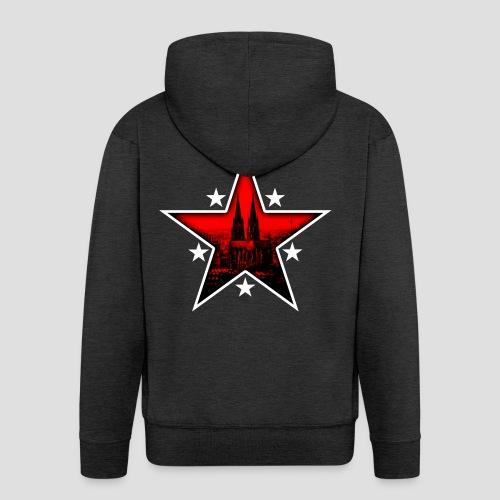 K  RedStar - Männer Premium Kapuzenjacke