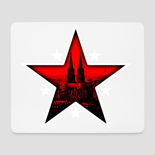 K  RedStar - Mousepad (Querformat)