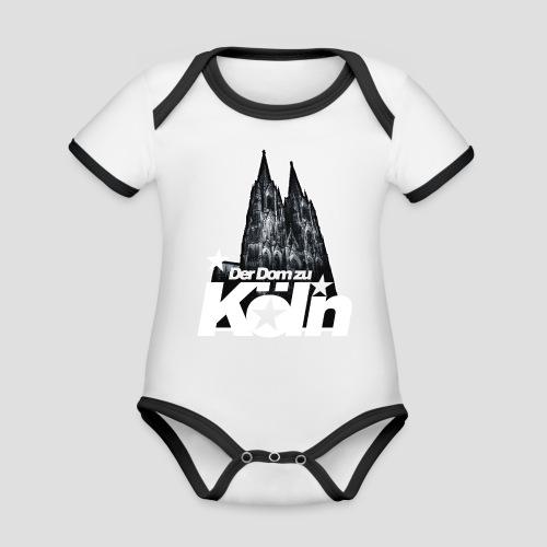 Der Dom zu Köln - Baby Bio-Kurzarm-Kontrastbody