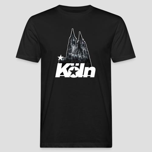 Der Dom zu Köln - Männer Bio-T-Shirt