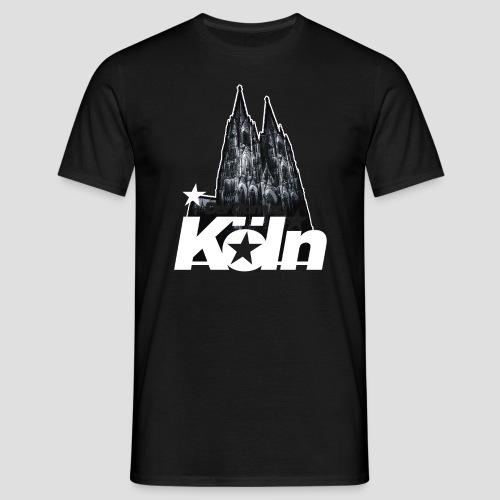 Der Dom zu Köln - Männer T-Shirt