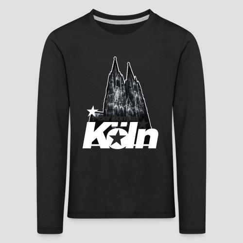 Der Dom zu Köln - Kinder Premium Langarmshirt