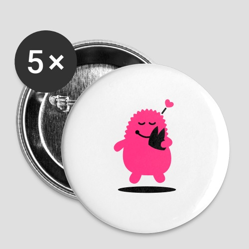 Das Dom Monster - Buttons mittel 32 mm (5er Pack)