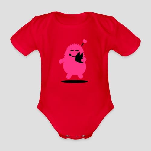 Das Dom Monster - Baby Bio-Kurzarm-Body