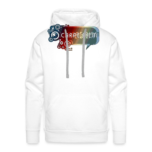 Carpe Diem - Circle - Männer Premium Hoodie