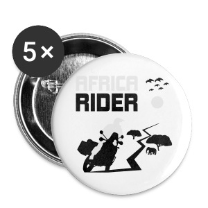 Africa Rider HQ - Buttons klein 25 mm