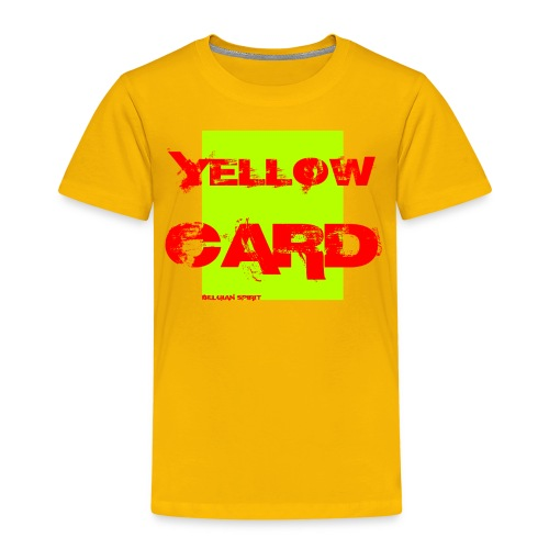BELGIAN-YELLOW-CARD - T-shirt Premium Enfant