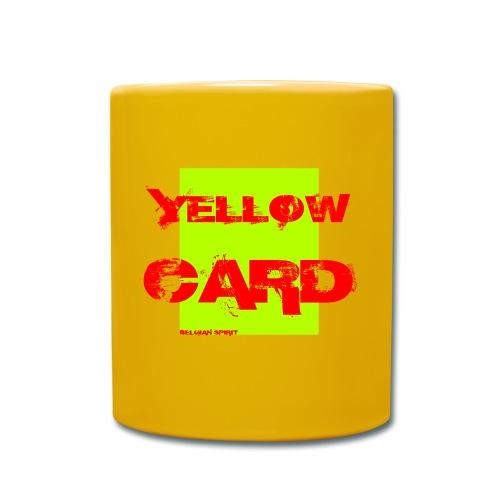 BELGIAN-YELLOW-CARD - Mug uni
