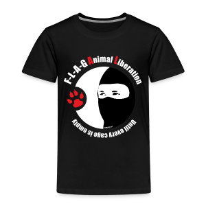 F-L-A-G Animal Liberation - Kinder Premium T-Shirt