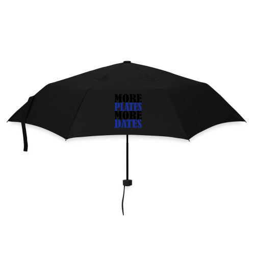 More Plates More Dates - Regenschirm (klein)