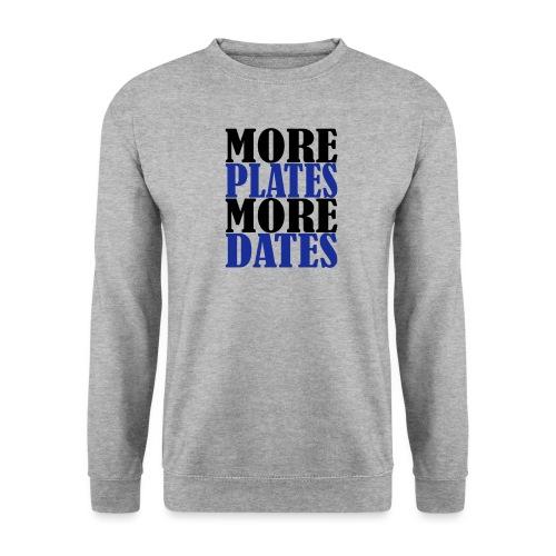 More Plates More Dates - Männer Pullover