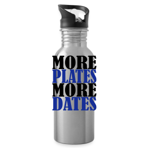 More Plates More Dates - Trinkflasche