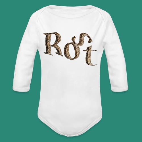 ROST T-SHIRT - Baby Bio-Langarm-Body