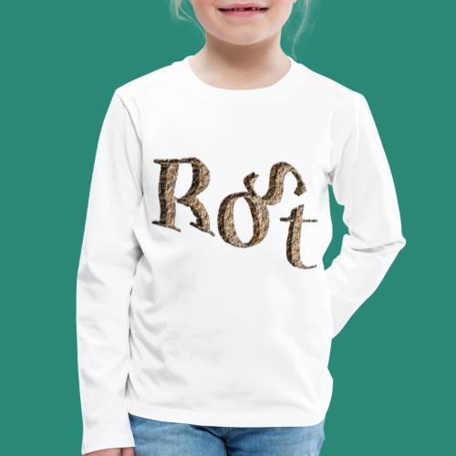 ROST T-SHIRT - Kinder Premium Langarmshirt
