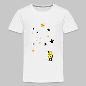 Vogel Sterne - Teenager Premium T-Shirt