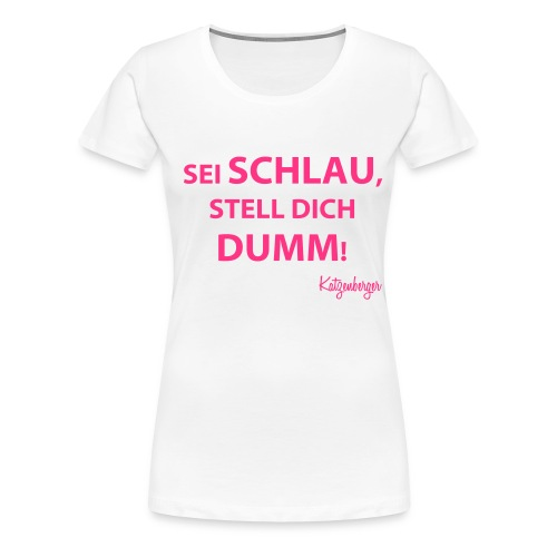 Kapuzenpullover - Frauen Premium T-Shirt