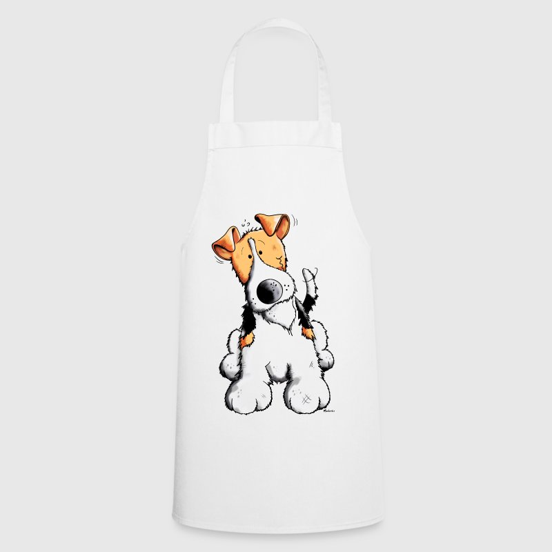 Funny Fox Terrier  Aprons - Cooking Apron